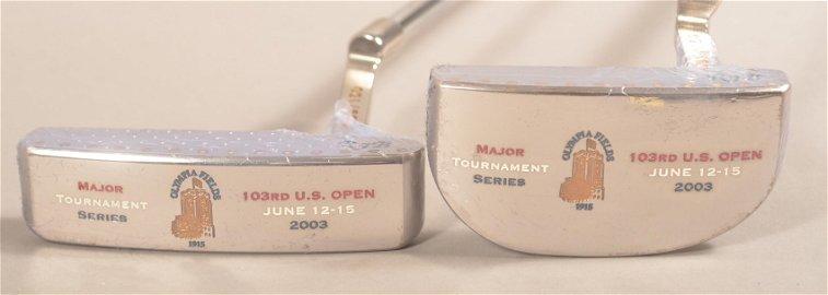 2 Bettinardi Putters; 2003 U.S. Open at Olympia Fields