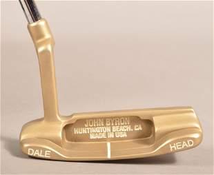 John Byron Golf Dale Head Bronze Putter