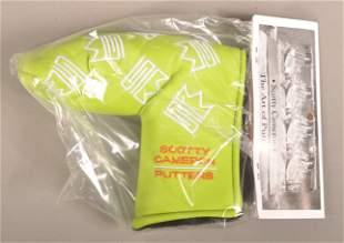 Scotty Cameron Lime Green Custom Shop Headcover