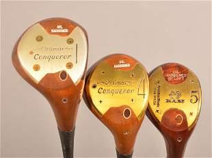 3 Clubs; Orlimar Conqueror 1-5 Woods, RAM 5 Wood