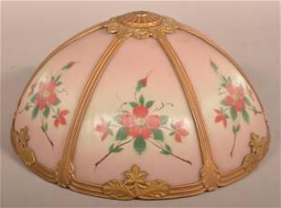 Antique Glass Table Lamp Shade