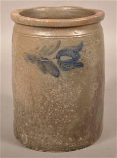W.H. Lehew & Co. Strasburg, VA 2 Gallon Stoneware Jar.