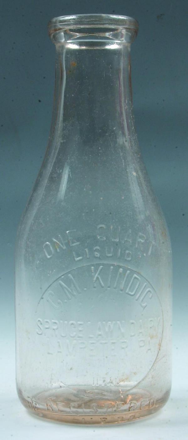 24: C. M. Kindig, Spruce Lawn Dairy, Lampeter, PA Milk