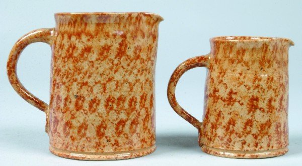 376: Two Left-handed Russell Henry (Hay Creek Pottery)