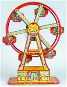 6 J Chein Tin Lithograph Wind Up Hercules Ferris Whee