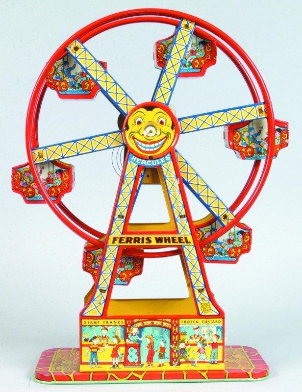 6: J. Chein Tin Lithograph Wind Up Hercules Ferris Whee