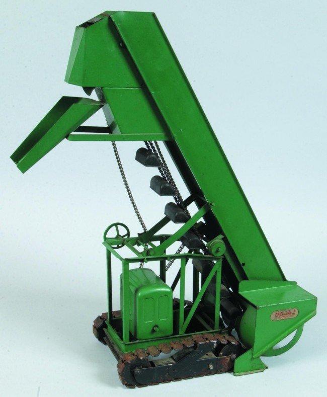 12: Model Toys Barber Greene Press Steel Bucket Loader. - 2