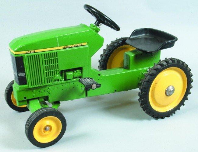 99: Ertl John Deere 7410 Cast Aluminum Pedal Tractor. 3
