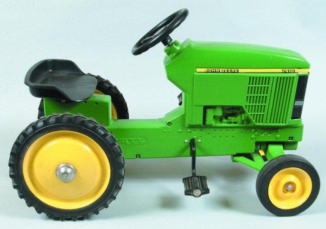 99: Ertl John Deere 7410 Cast Aluminum Pedal Tractor. 3 - 2