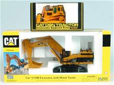 141 Two 150 Scale Die Cast Metal Construction Toys N