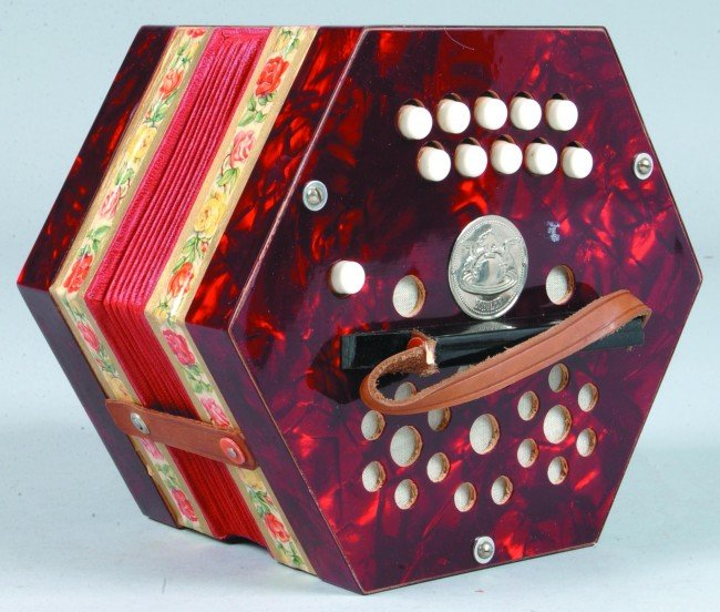 474: Scholer Concertina Nr. CHU 100 in original