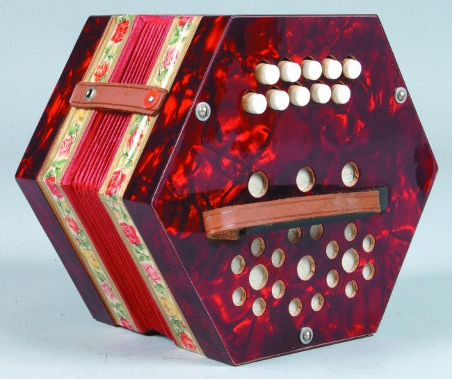 474: Scholer Concertina Nr. CHU 100 in original - 2