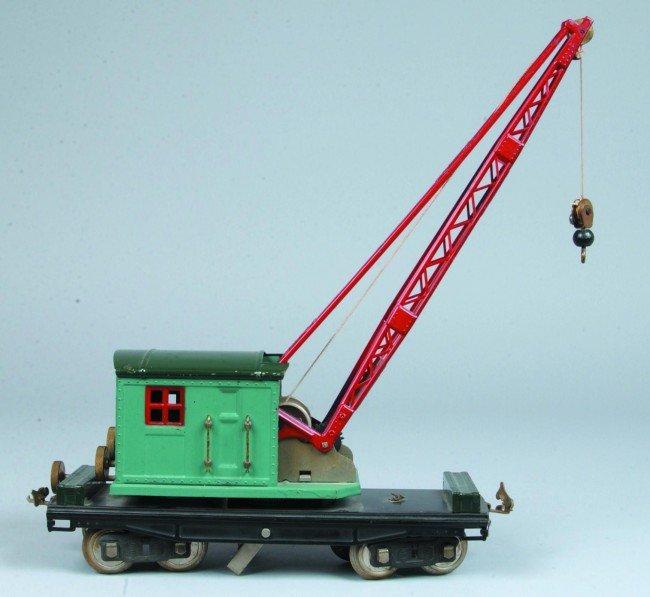 8: Standard Gauge Lionel #219 Crane. Nice professional