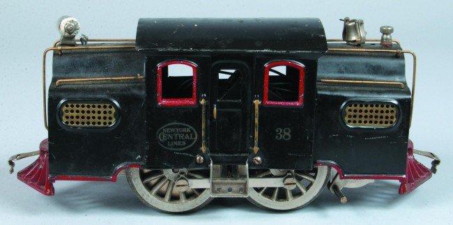 14: Lionel Standard Gauge #38 Engine, (Type 2), circa 1