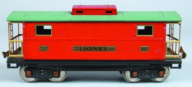 17: Lionel Type 4 #217 Standard Gauge Caboose, circa 19