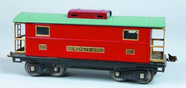 18: Restored Lionel Standard Gauge (Type 4) Caboose, ci