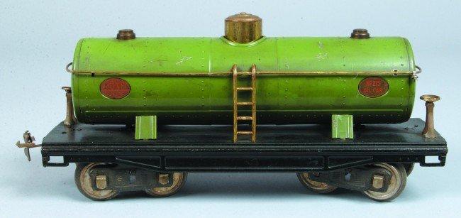 21: Lionel Standard Gauge #215 Oil Car, (Type 2) with g
