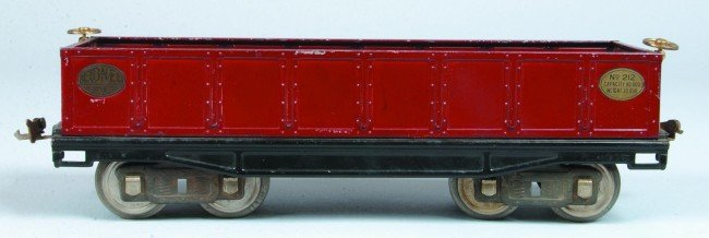 23: Lionel Standard Gauge #212 Gondola Car, (Type 2), c