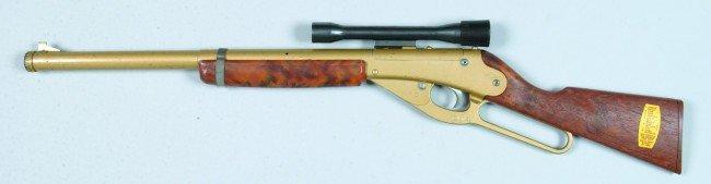424: Daisy Model 104 BB Gun, (top of barrel) with scope - 2