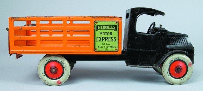 533: Motor Express Mack C Cab Truck by  Hercules Toys,