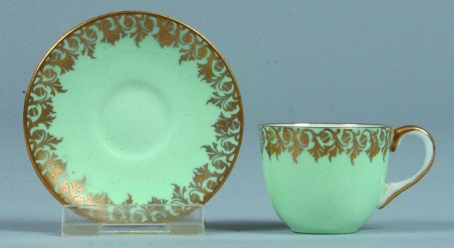 19: Shelley China Miniature Cup and Saucer, unknown pat