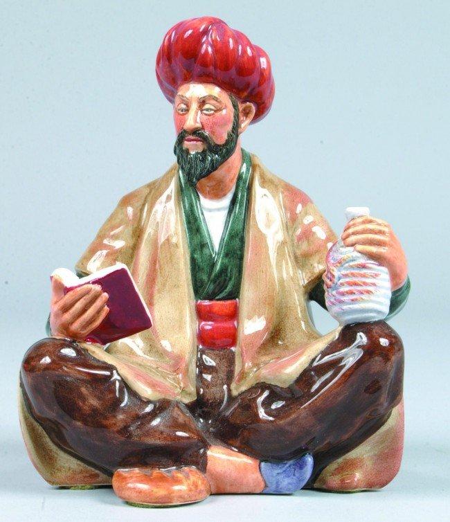 "2: Royal Doulton Porcelain figurine ""Omar Khayyam"" HN 2"