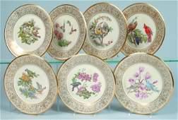 199 Seven Lenox Porcelain Boehm Birds Annual Limited