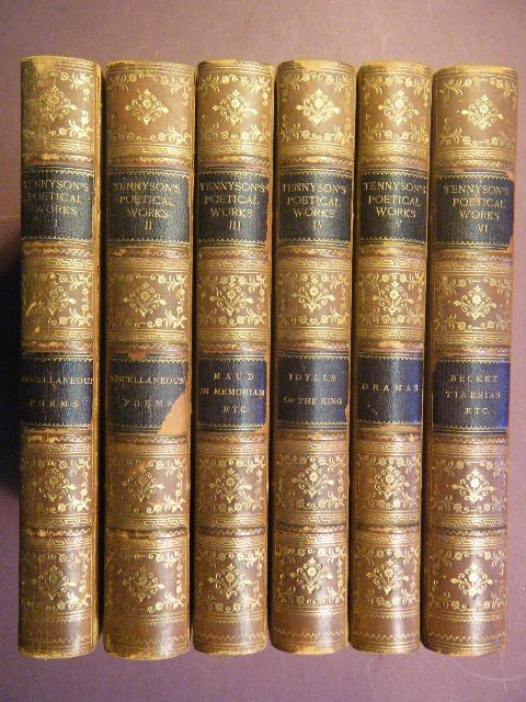 5: Tennyson, Alfred Lord. The Works of Alfred Lord Tenn
