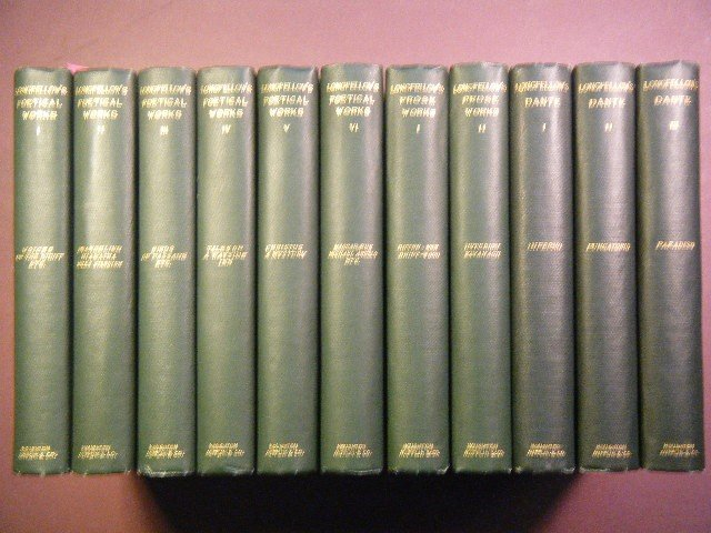13: Longfellow, Henry Wadsworth THE COMPLETE WORKS OF H