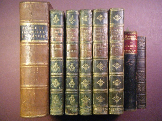 16: (8 leather volumes-Classic Lit) Smith, James and Ho