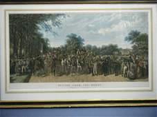 "(large framed Herring Derby Print) ""Return From th"