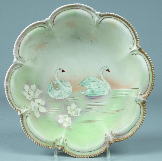 """11: RS Prussia Bowl, 10.75""""d, Mold 202, 8 lobes with be"""