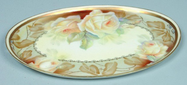 """95: RS Prussia/ Tillowitz Tray, 9""""w. x 12.75""""l.; Mold 4"""