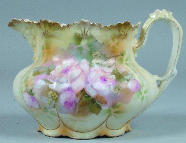 "204: RS Prussia Lemonade Pitcher, 5.5""h. x 6.75""d.; Mol"