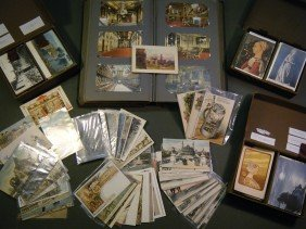 1) (large Lot Of Foreign Postcards) This Lot Include