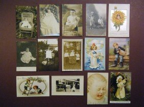 (PCs Of Children) This Lot Contains 22 Cards, All De