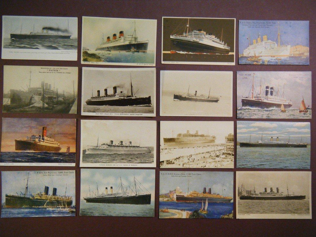 9: (Vintage Steamship/Ocean liner PCs) Included in this