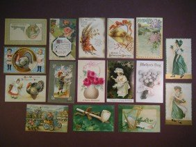 10: (Misc vintage gretting cards)39 various greeting ca