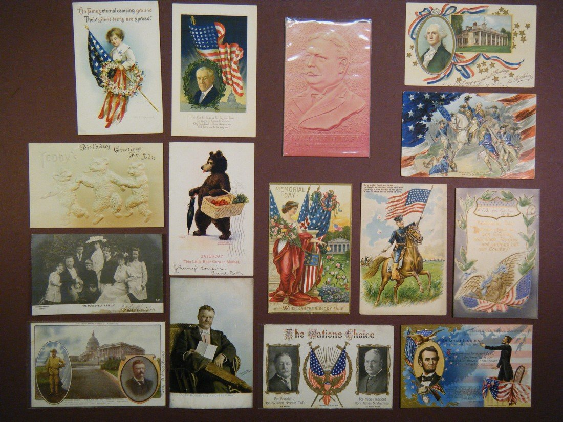 14: (Flags/US President PCs) Including some partial pos