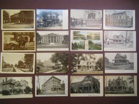 18: (Lancaster County) 23 1905-1910 PCs, including 3 b&