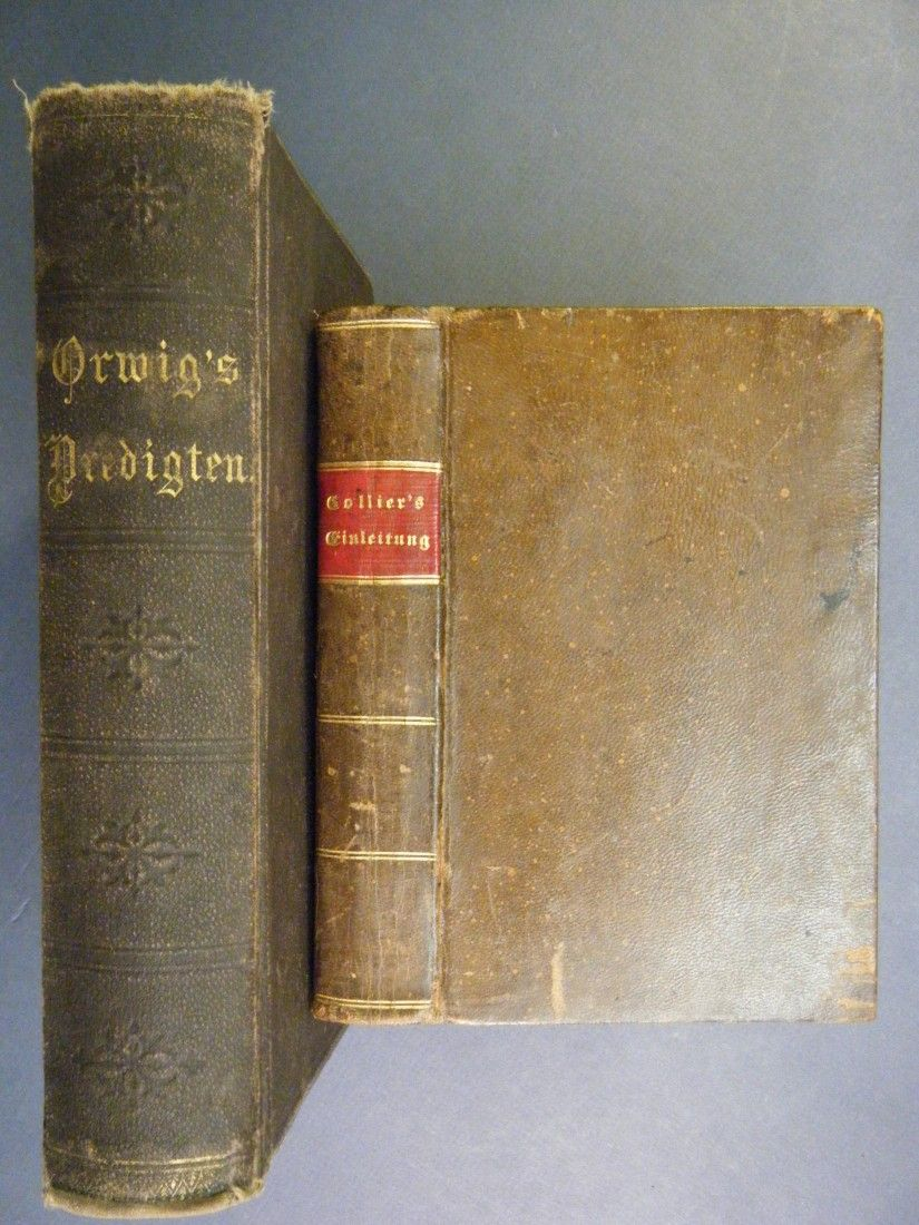 257: (2 Evangelical Church German/American Imprints)ZWE