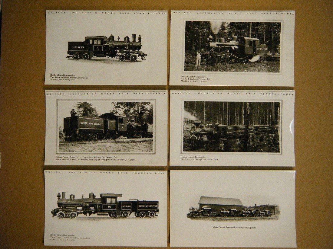 763: (2 re: Heisler Locomotives) THE HEISLER LOCOMOTIVE