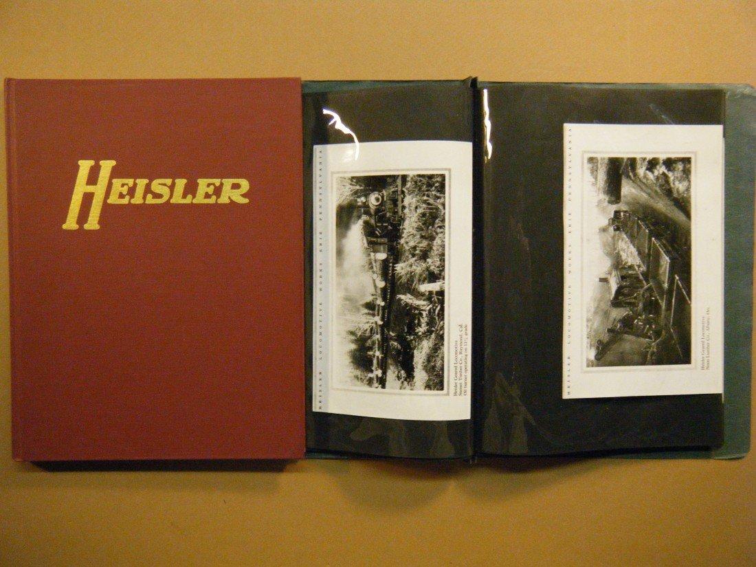 763: (2 re: Heisler Locomotives) THE HEISLER LOCOMOTIVE - 2