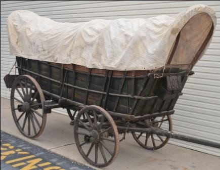 499: Very Fine and Important Full-size Conestoga Wagon