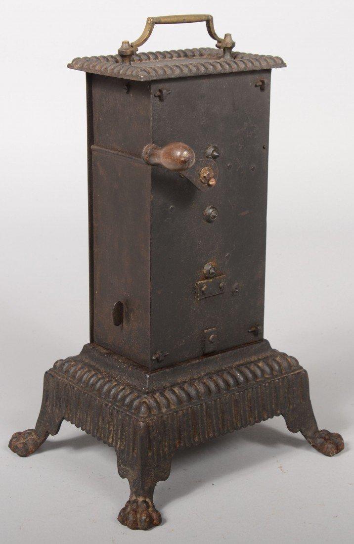 141: Free Standing Clockwork Rotisserie Engine. Brass m - 3