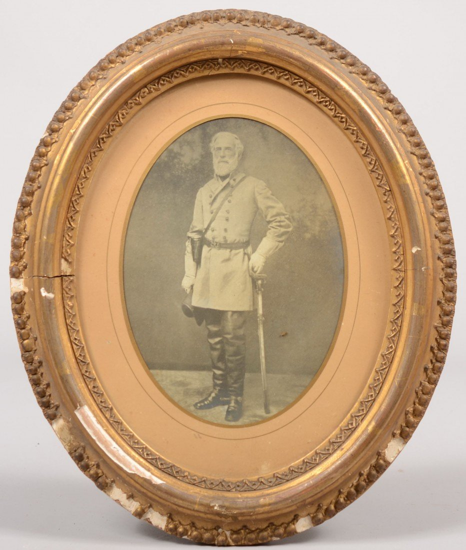 5: Black and White Photograph of General Robert E. Lee.