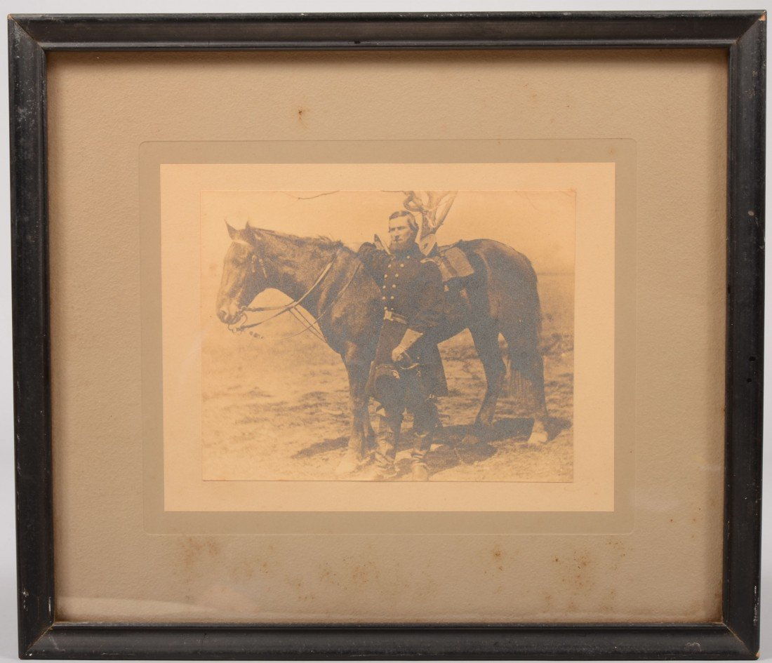 12: Sepia Photograph of a Dismounted Civil War Officer