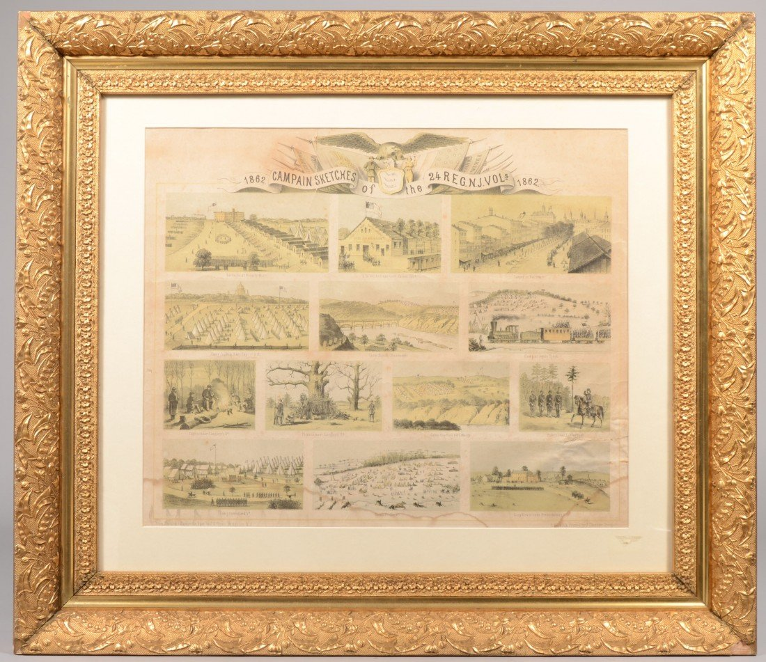 """15: """"Campaign Sketches of the 24th Regt. N.J. Vols. 186"""