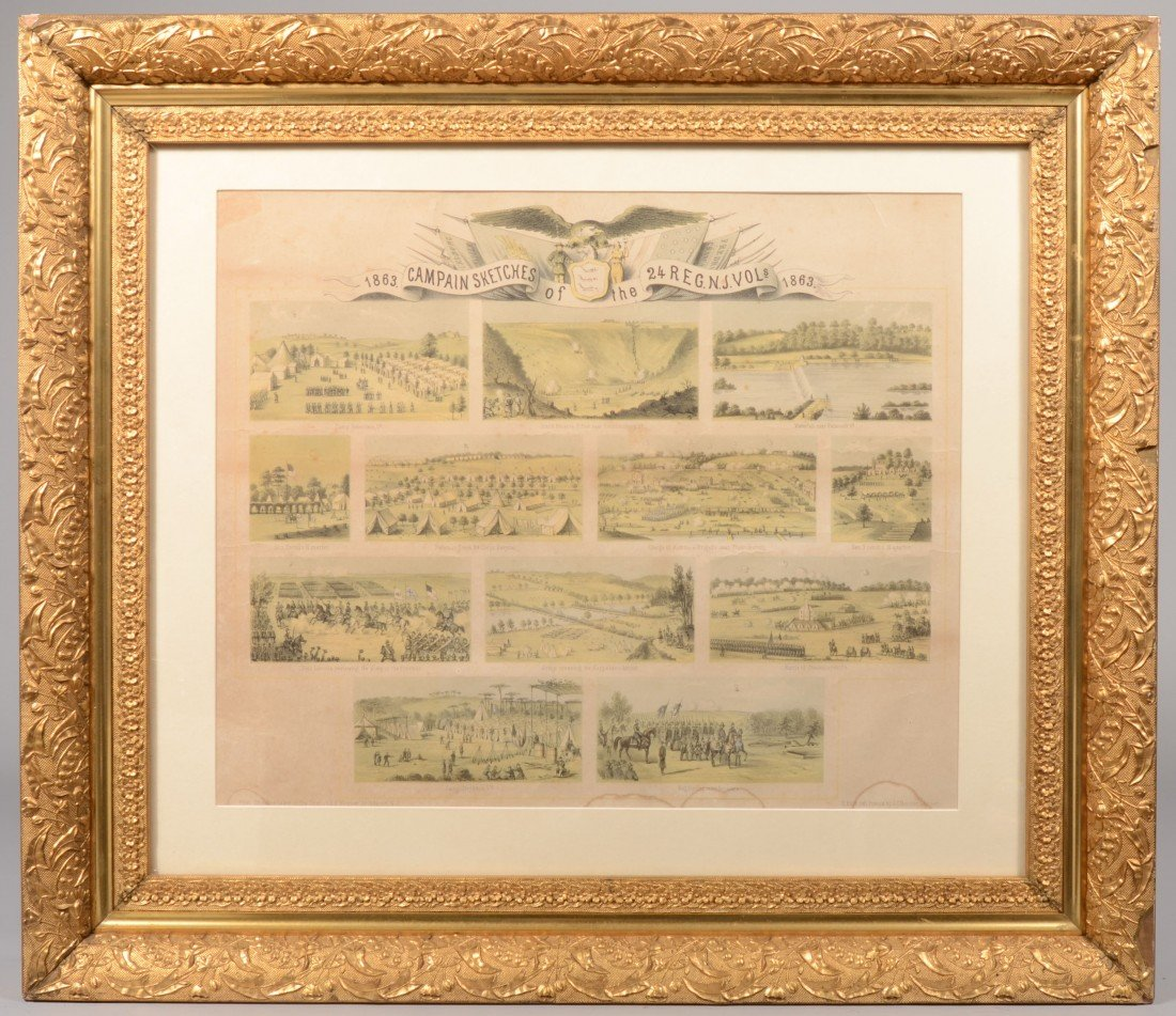 """16: """"Campaign Sketches of the 24th Regt. N.J. Vols. 186"""