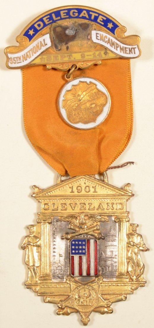 20: GAR 35th National Encampment Delegate medal dated 1